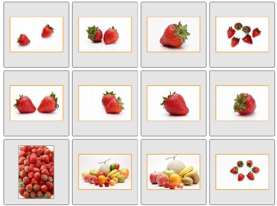 フリー素材サイトの画面画像